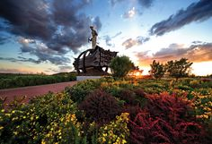 Another great shot of Iron Man and gardens by Chisholm's own Mr. Butkovich