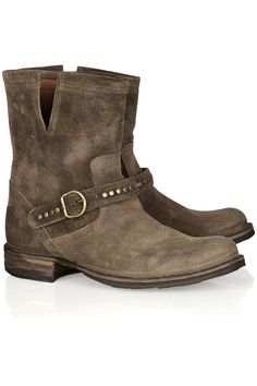 Fiorentini & Baker Elis Eternity studded suede boots