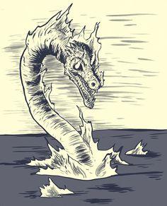 Gaasyendietha/Meteor Dragon (Native American) http://en.wikipedia.org/wiki/Gaasyendietha