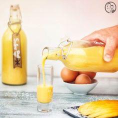 Lust auf eine fruchtige Eierlikör-Variation, die ganz flott selbst gemacht ist. Rezept inkl. Zubereitung mit und ohne Kenwood Cooking Chef.