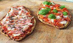 Low Carb Rezepte: Low Carb Pizza-Schiffchen