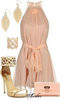 Adorable Dress. Stunning Shoes