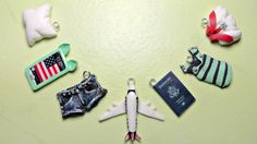 Polymer Clay Tutorial - Airplane Trip Charms