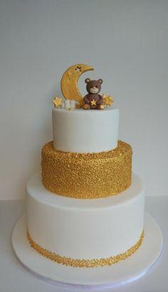 Golden Bear - cake by nef_cake_deco