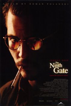 johnny depp movie posters | Johnny Depp The Ninth Gate Movie Reproduction Poster