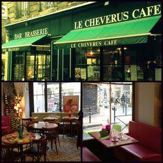 Un de mes cafés préférés, j'aime bien écrire là bas l'après midi.