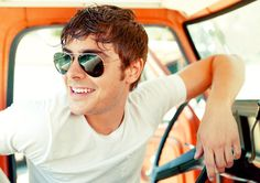 Zac Efron... I have honestly thought he was good looking since High School Musical(: and hes just getting better(: