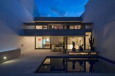 Maison design béton