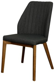 Our Florence Side Chair is a perfect blend of eye catching midcentury modern flair and comfort. Featuring soft 100% polyester fabric and solid Ash wood legs, this beauty will add tons of style to your