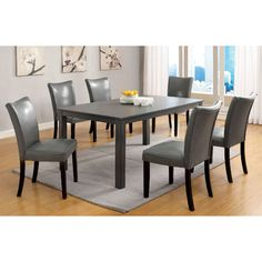 hokku designs grant 7 piece dining set images