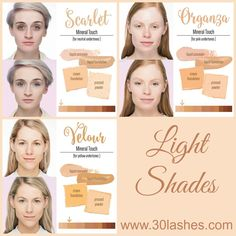 Younique Touch Mineral Liquid Foundation in Light Shades  Order at www.makeupwithkimbrell.com