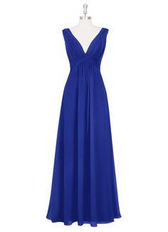 AZAZIE HILLARY. Hillary is a floor-length dress in an A-line cut made of chic chiffon. $139