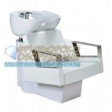 Измивна колона за коса модел FO3573 - Красива и удобна фризьорска мивка с дълбока керамика FO3573.
