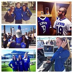 Students and faculty had a blast at the Bobby Campbell Stadium Dedication held yesterday! #picstitch #lynning