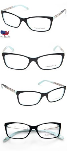 194be61ffefb Eyeglass Frames 180957  New Tiffany And Co. Tf 2103-B 8055 Black Blue  Eyeglasses 53-16-140 B33mm Italy -  BUY IT NOW ONLY   154.98 on  eBay   eyeglass ...