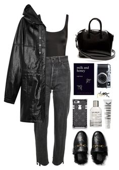 anaphora by millicent4 on Polyvore featuring Yves Saint Laurent, Vetements, Norma Kamali, Givenchy, MILK MAKEUP, Fujifilm and Le Labo