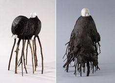 Yasuyuki Katayama (片山康之) (Prefectura de Okayama, Japón / Okayama Prefecture, Japan, 1978-) Obras sin título / Untitled works