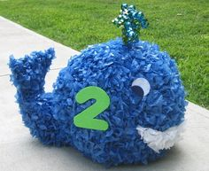 Whale Pinata Made to Order by MommyDo on Etsy