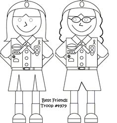 Girl Scout Cookies Coloring Pages For Kids | gs - coloring pages ...