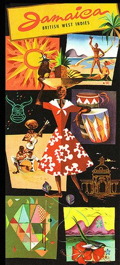 travel brochure, front cover Jamaica travel brochure from Jamaica Tourist Board Jamaica Travel, Jamaica Jamaica, Jamaica House, Jamaica Honeymoon, Jamaica History, Jamaican Art, British West Indies, Pin Up Posters, Paisajes