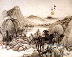 5gh0096-Traditional-Chinese-painting-calligraphy-on-paper.jpg (591×473)