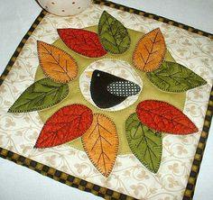 scrap-happy projects | Flickr - Photo Sharing!-cute mug rug