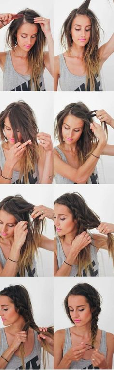 Braiding the most loved Undone-Look in only 5 Minutes!