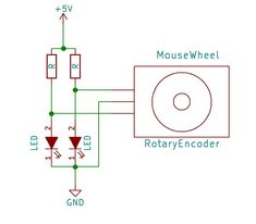 The scroll of a mouse works using a rotary encoder to detect the direction and movement of the wheel so that it helps us better handle the interface of different programs such as web browsers, PDF …