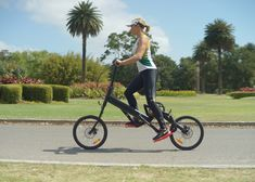 """Bionic Runner combines cycling and jogging for """"injury-free"""" running."""