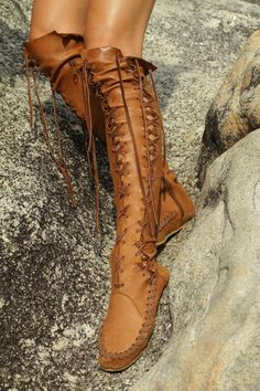 Great for hiking.. boot/moccasin inspiration