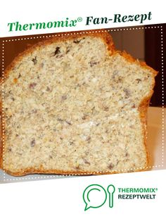 Eiweißbrot Protein bread from A Thermomix ® recipe from the Bread & Buns category www.de, the Thermomix ® community. Appetizers For Kids, Finger Food Appetizers, Holiday Appetizers, Kneading Dough, Protein Bread, Italian Pastries, Alfredo Recipe, Bread Bun, Grilling Recipes