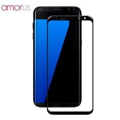 >> Click to Buy << AMORUS for Samsung Galaxy S8+ Plus S8 + Glass Silk Printing Tempered Glass Screen Protector for Samsung S8 Plus Protective Glass #Affiliate
