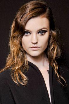 Cómo llevar el pelo it: Lanvin // eyeliner