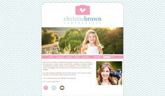 Custom ProPhoto blog for Christie Brown Photography