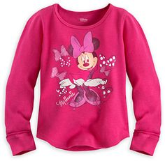 Disney Minnie Mouse Long Sleeve Thermal Tee for Girls on shopstyle.com