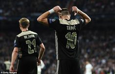 The Serb scored one and assisted two as Ajax thrashed Real Madrid at the Bernabeu Fifa, France Euro, Lionel Messi Barcelona, Afc Ajax, Real Madrid Players, Toni Kroos, Robert Lewandowski, Perfect 10, Europa League