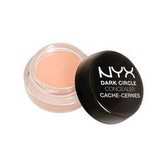 """NYX Dark Circle Concealer - The Best Concealers for Under $10, According to Makeup Artists - Southernliving. """"The lighter shades have peach undertones and the deeper have orange, which are both great at combatting the blue under eyes most people have. The formula is in a pot but it's not thick or dry, and never looks cakey. I like to apply with my ring fingers to warm it up and pat where the under eyes are especially dark, and then blend out. And for $6, you can't beat the price!"""" —Joanna…"""