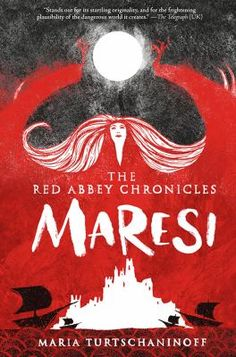 Maresi by Maria Turtschaninoff (YA FIC Turtschaninoff). As thirteen-year-old novice Maresi awaits the call to serve in one of the houses of the idyllic Red Abbey, a new arrival with a dark past requires Maresi to act in order to protect her new sister and the Abbey.