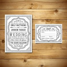 Hey, I found this really awesome Etsy listing at https://www.etsy.com/listing/222305071/printable-wedding-invitation-rsvp