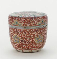 Mimpei ware tea caddy (natsume)  ca. 1834-1835    Ogata Shuhei , (Japanese…