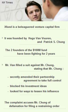 Partners of #Vc fund #Xfund fighting over control #parternship #disputes #investors #funding http://arzillion.com/S/eBiHNh