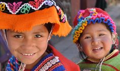 Cheerful Peruvian children (Dreamstime)