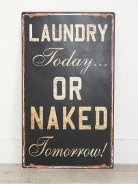 for the laundry room. HA