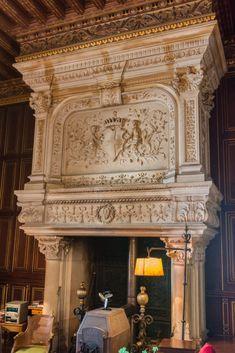 Interior Design, Home Decor, Painted Beams, Castle Interiors, Nest Design, Decoration Home, Home Interior Design, Room Decor, Interior Designing