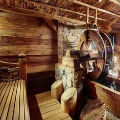 Hotels, Wood Stone, Sauna, Firewood, Stones, Relax, Rustic, Swimming, Woodburning