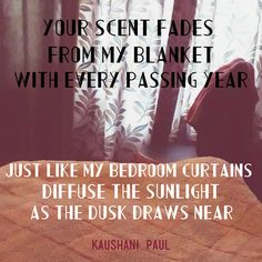 • Evanescence • #blanket #scent #curtains #sunlight #dusk #fading #fadeaway | Follow me on Instagram: kaushanipaul28 |
