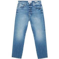 FRAME Denim Le Original Jeans ($388) ❤ liked on Polyvore featuring jeans, frame denim jeans, frame denim, 5 pocket jeans, boyfriend fit jeans and boyfriend jeans