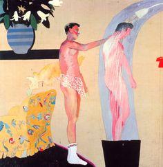 violetbeach:  David HockneyDomestic Scene, Los Angeles 1963