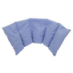 Flexible Cherry Stone Pillow 50x20 cm - Made in Germany - Filling: 800 Grams of Cherry Pits, Cover: 100% Cotton - Blue Large