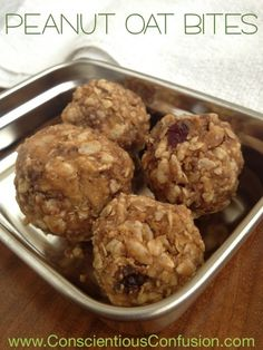 Waste free protein snack: Peanut Butter Oat Bites - RECIPE! If there's one thing I don't like about most snacks marketed as protein snacks, it's the waste.